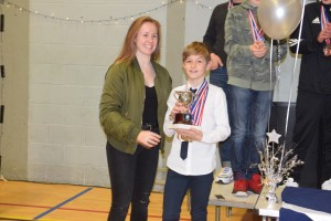 he winner of the Boys Age 12 trophy was Lachlan Middleton