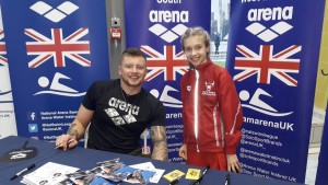 Scarlett Shorter and Adam Peaty