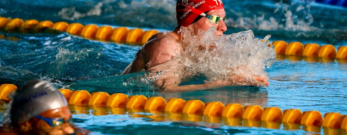 Young Oxford Swimmer Connor Bryan answers international call up